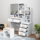 Dressing Table Bedroom Dressing Table Modern Home Furniture Bedroom Minimalist Style Wooden Dressing Table With Drawers