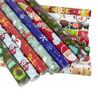 Christmas presents gift packing paper wrapped tissue paper for flowers packing roll paper tissue roll custom logo