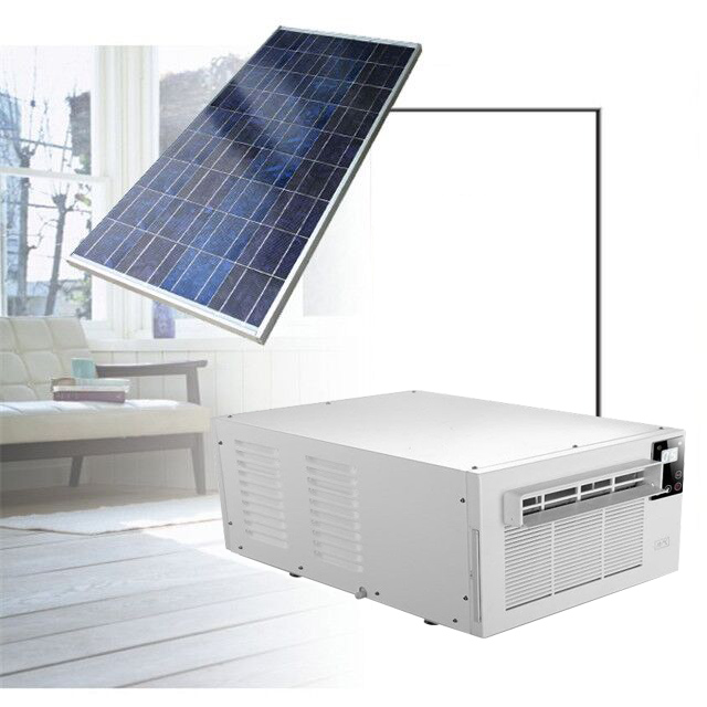 2020 new solar <strong>air</strong> <strong>conditioner</strong> mini split system DC hybrid power