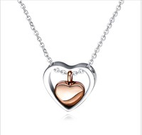 Wholesale cremation jewelry always in my heart cremation ashes necklace
