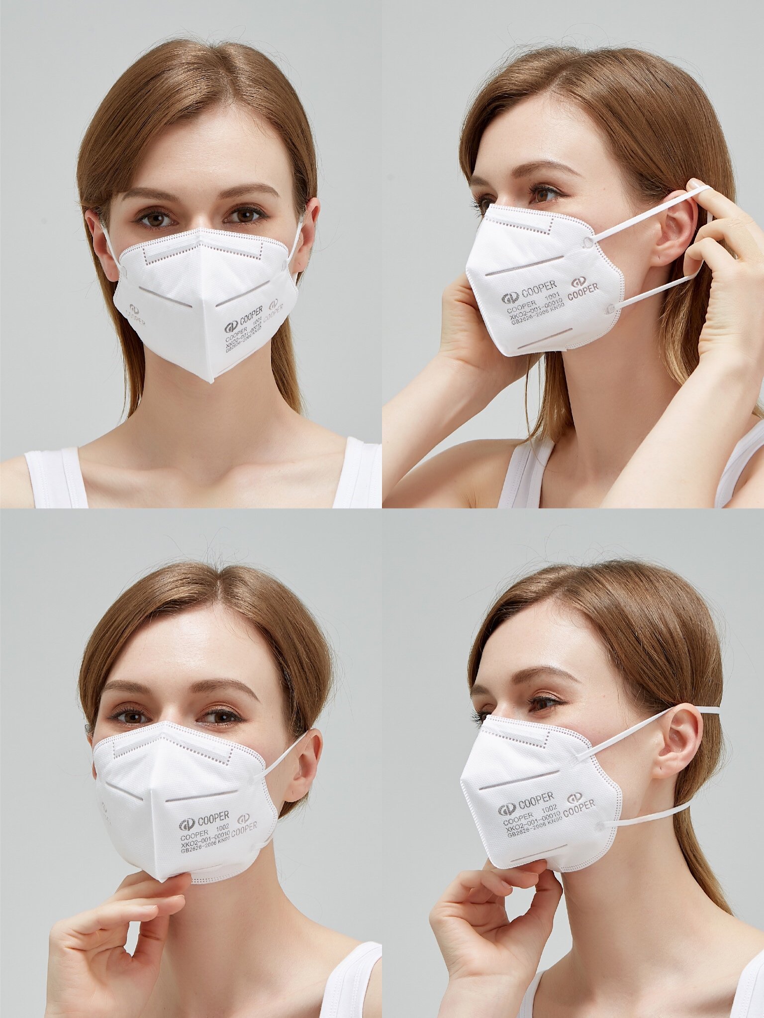 TZCP-1001 Cheap disposable anti-pollution folding respirator dust mask