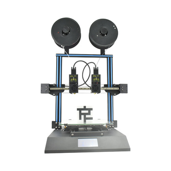 Dual Color 3D Printer with Touch Screen, Support PVA TPU ABS PLA
