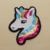 High quality cheap price unicorn reversible sequin iron on patches embroidery