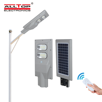 ALLTOP 3 year warranty IP65 outdoor lighting waterproof ABS 30w 60w 90w 120w 150w integrated all in one solar led street lamp