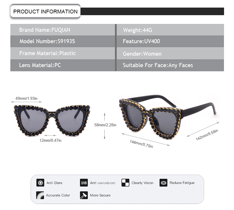 Fuqian sunglass sunglass Supply-7