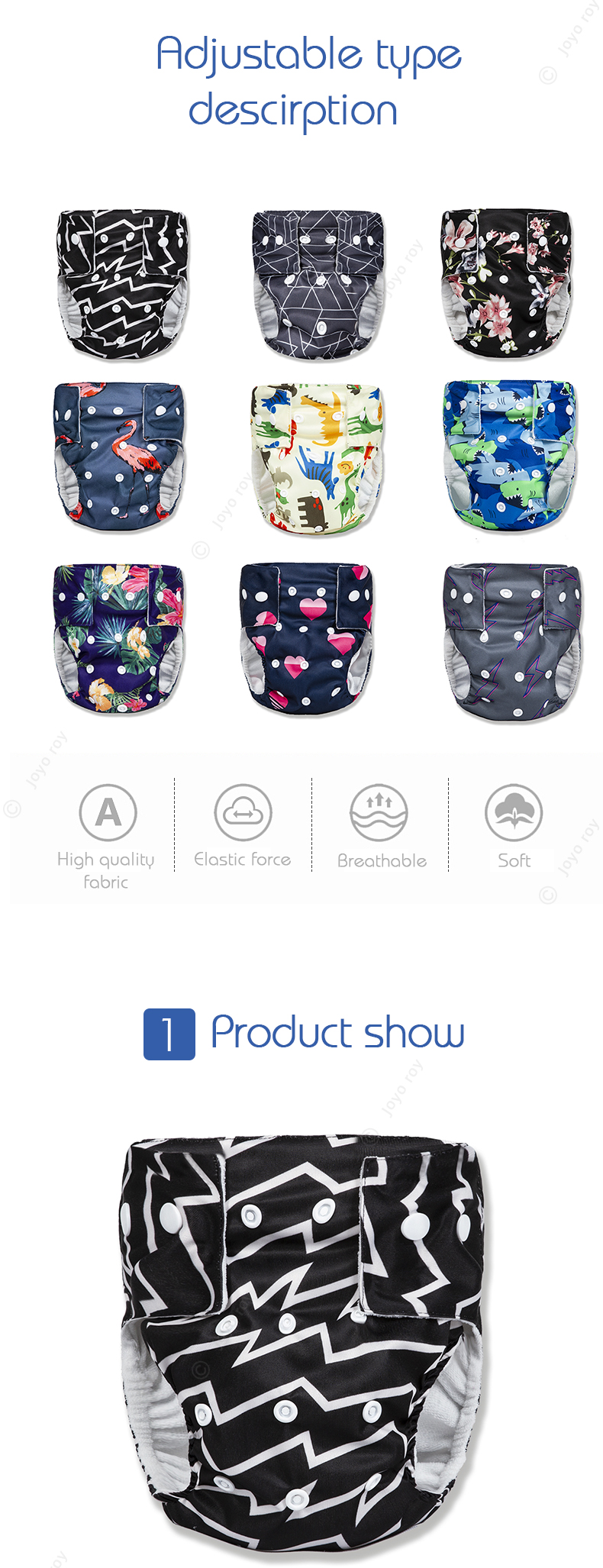 Sleepy Baby Diaper Diapers Reusable Baby Diapers