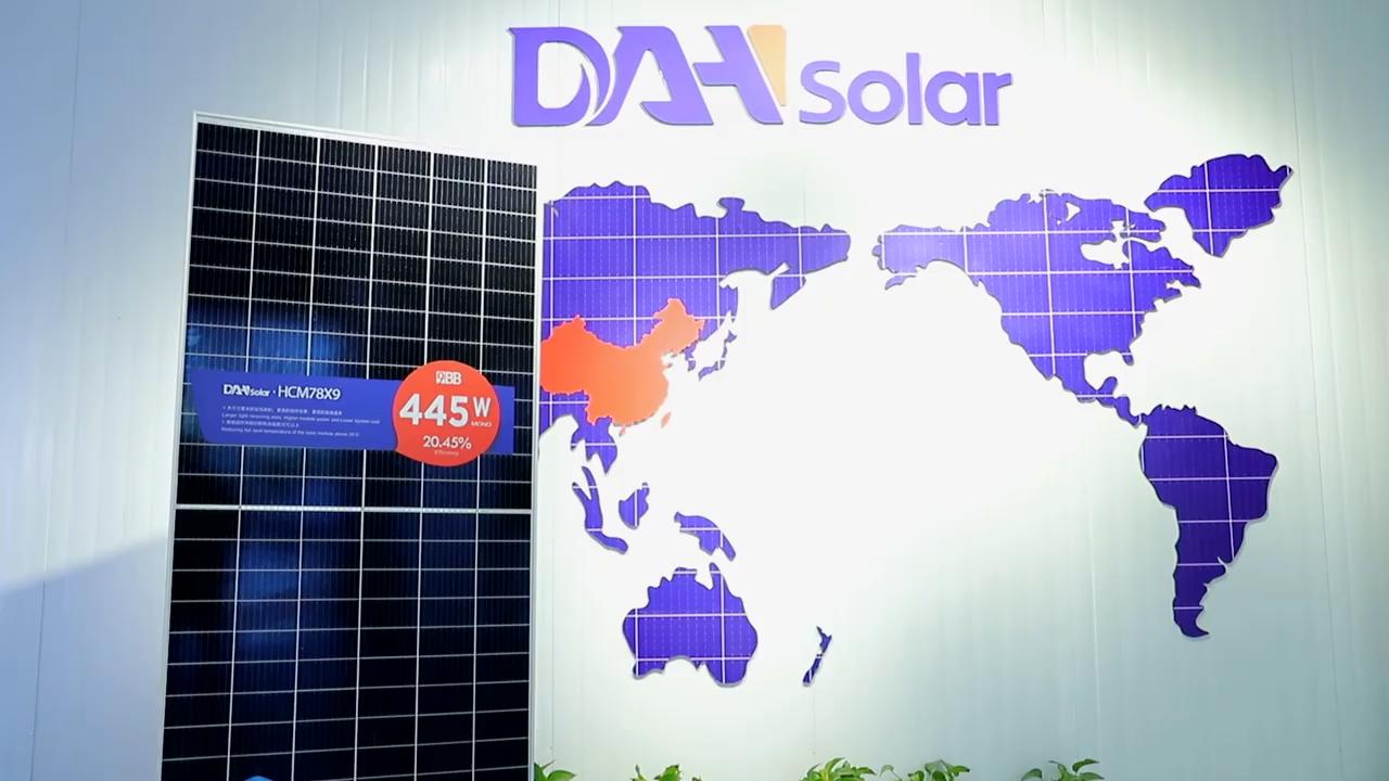DAH 태양 전지판 가격 300W 330W 350W 360W 380W 400W 500W 태양 전지 패널