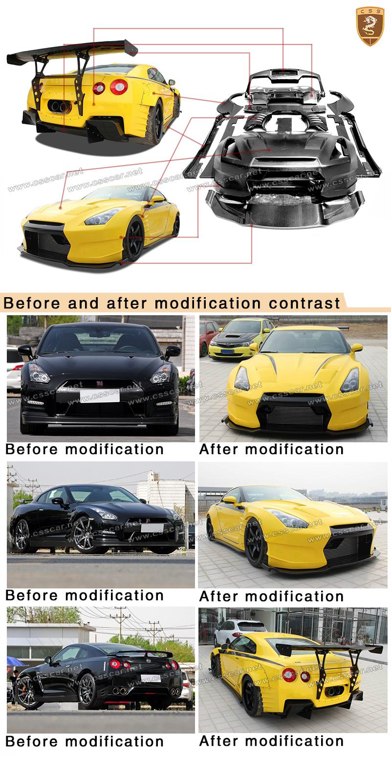 For N-issans Japan Car Wide Body Kits Ben-sopra Body Kits ...