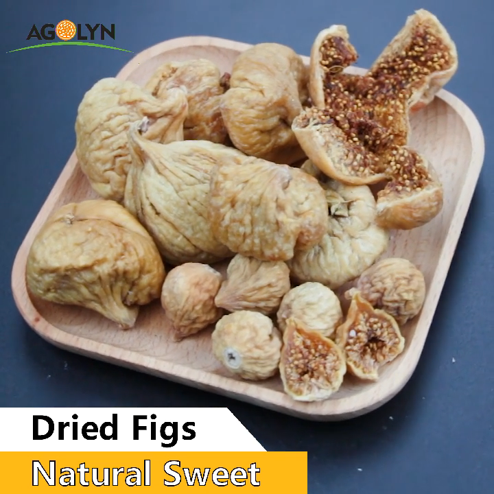AGOLYN Natural Fresh Sweet Sun Dried Figs Fruit