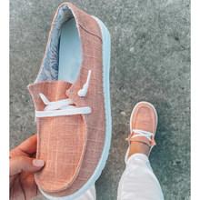 Женская обувь на плоской подошве, повседневные лоферы на шнуровке, Женские Летние слипоны, кроссовки, женские мокасины, 2020(Китай)