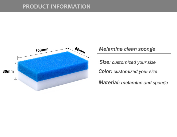 Melamine Dish Sponge Magic Sponge Eraser for cleaning kitchen