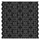 Dress Fabric Make To Order Dress Fabric Knitted Garment Accessories Custom Black Lace Fabric