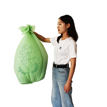 Custom Cheap price Christmas biodegradable garbage