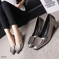 wholesale slip on pump shoes fashion high heel women daily office dress women shoes