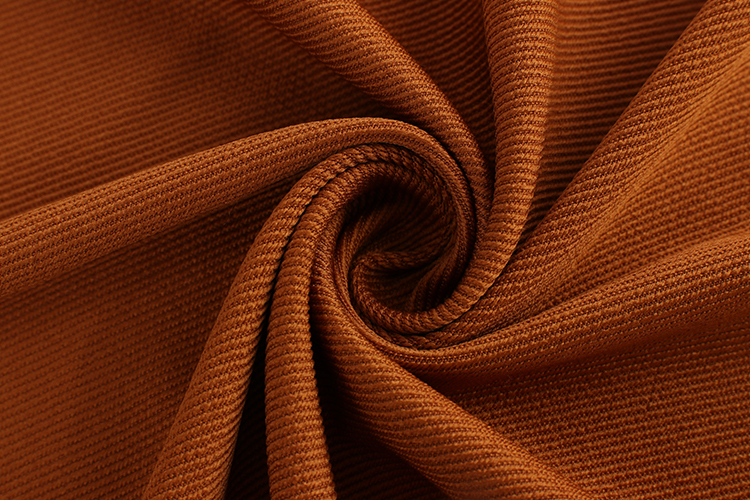 W888-4 Bio-polished sport wear twill knitted stretch terry fabrics textiles polyester