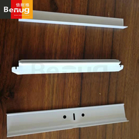 galvanized t shaped keels ceiling decorative gypsum ceiling suspension silhouette ceiling grid