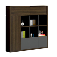Pengpai wood furniture file showcase home office wooden cabinets