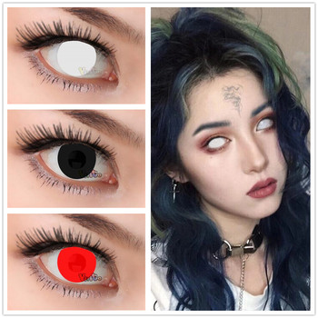 Vivigo Brand Red Blind Cosplay Color Contact Lens Buy Color Lenses Cosplay Contact Lenses Crazy Contact Lenses Product On Alibaba Com