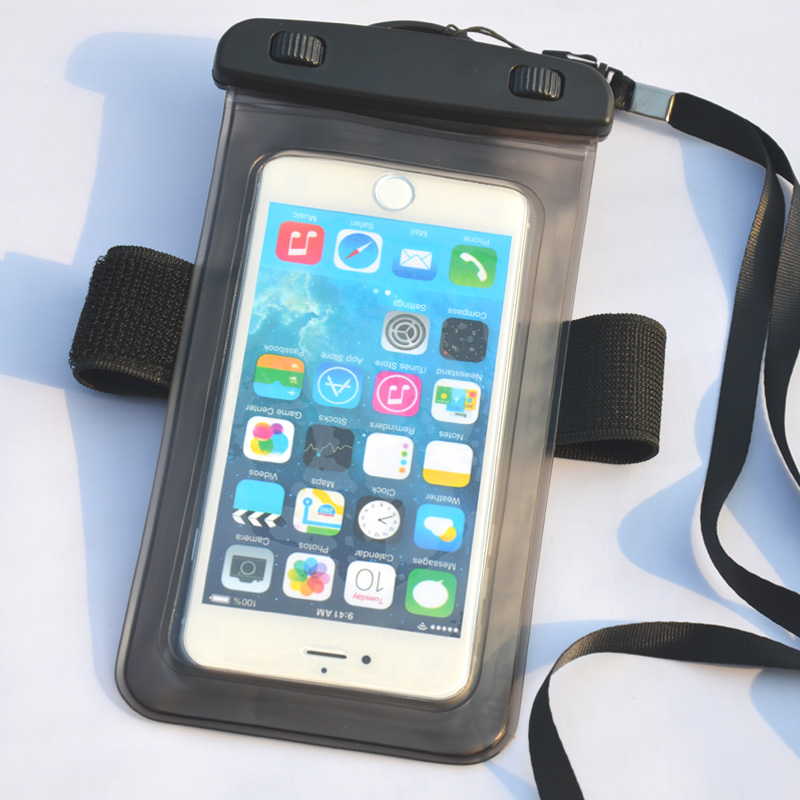 Hot selling clear waterproof phone pouch oversized iphone pouch phone bag