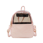 Mini backpack new summer Korean version travel backpack fashion versatile transparent small backpack
