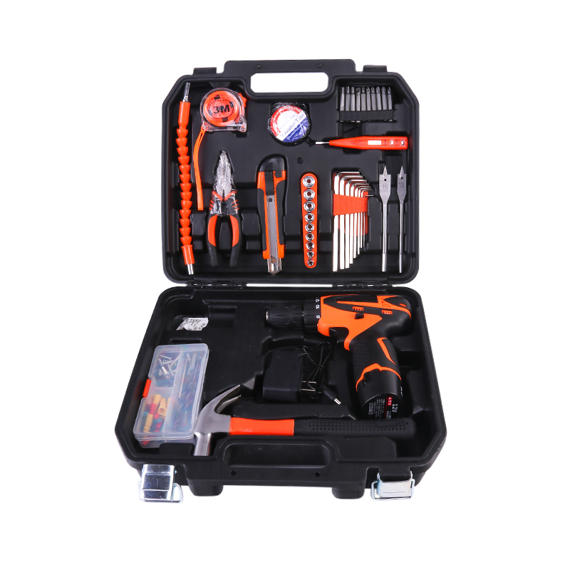 Ronix 2019 New Design Household Set of <strong>Tools</strong>, Hand <strong>Tools</strong> Set with Cordless Drill,