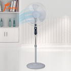 16 inch electric modern stand fans home oscillating big wind air cool stand fan with controller