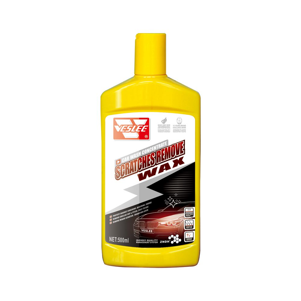 Car auto contain abrasive particles liquid 500ml repair wax scratch remover