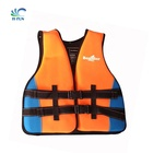 Customize water life vest water buoy neoprene life jackets outside water park floating swim suit adult