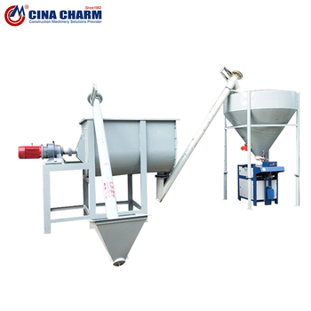 Putty powder production equipment tile glue mixing tank dry powder mortar