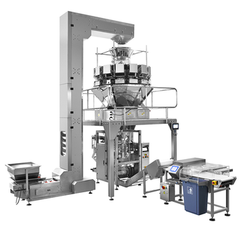 Automatic vertical / horizontal type snacks food packaging machine