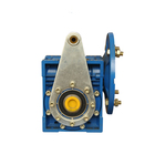 Housing material Aluminum Alloy 1:60 Ratio 90 Degree NMRV063 Worm Gearbox Conveyor Motor