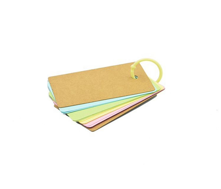 29mm 70pcs stationery candy Plastic Opening Loose Leaf Book Card Album Craft O Ring