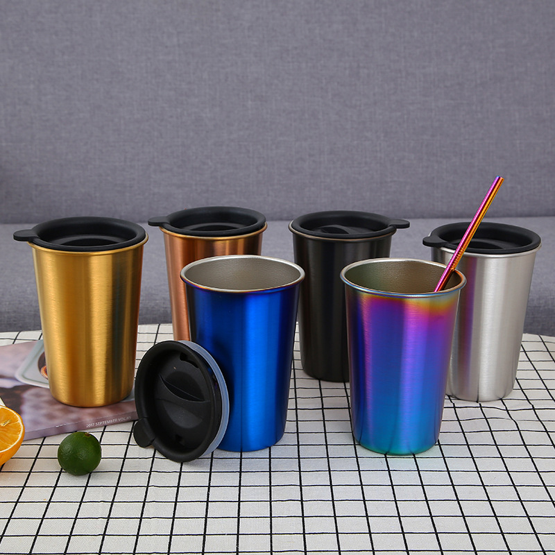 Promotional Simple Style Durable Stainless Steel 18/8 SS304 Drinking Water Coffee <strong>Cup</strong>