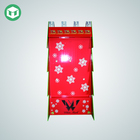 Christmas Tree Design Corrugated Cardboard Displays Point of Sale Display