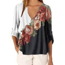 Модные женские футболки с цветочным принтом, с изображением подсолнухов, с цветочным принтом, женские летние винтажные свободные белые фут...(China)
