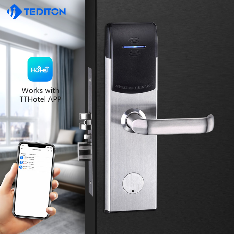 Professional Manufacturer Cheap Durable Rfid Card Smart Hotel Lock System