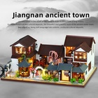 Chinese Style Children Toy Furniture House Wooden Doll House Accessories and Furniture