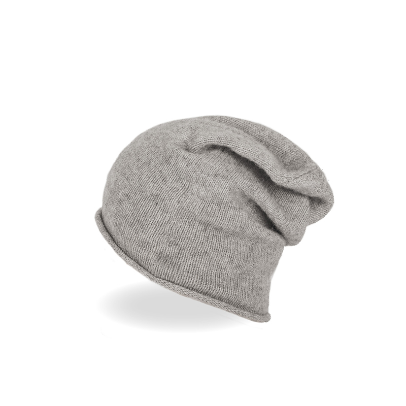 Đặc Biệt 100% Cashmere Ấm Slouchy Skateboard Skull Knit Beanie Hat