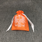 Custom Fashion Satin Jewellery Pouch Bag For Printed Logo