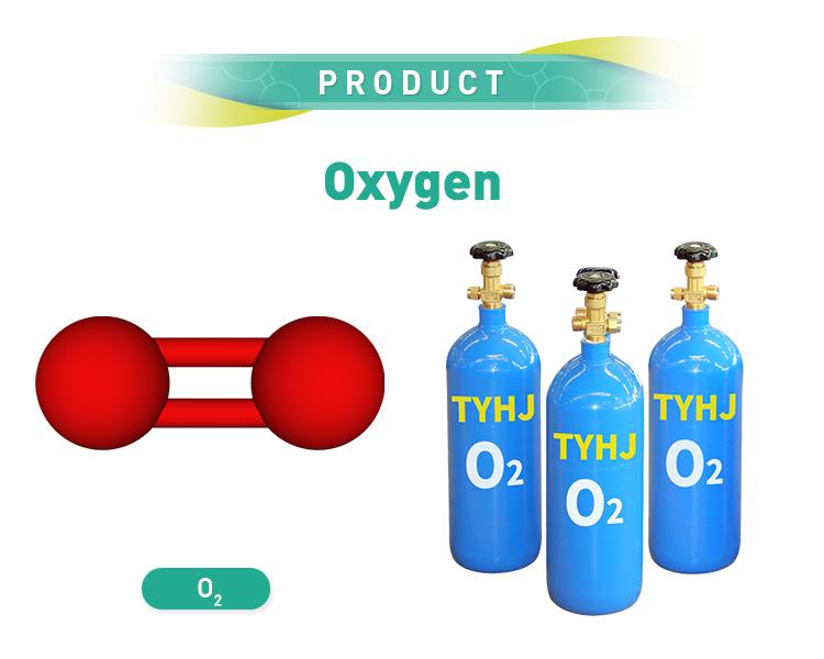 Compressa medicinali di ossigeno medicale botella de oxigeno 10m3