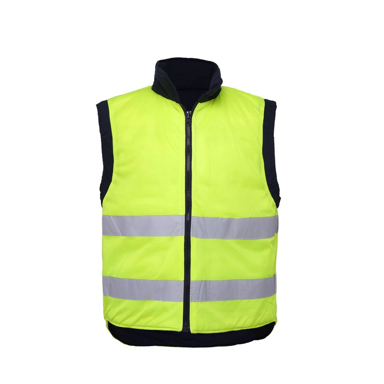 Wholesale Custom Class 2Safty Yellow Safety ReflexConstruction Security Worker  Reflective  High Visibility Vest