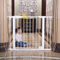 hangzhou hot sale wholesale metal gates stair safety child gate retractable