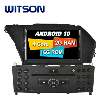 WITSON Quad-Core Android 10.0touch screen car dvd gps FOR MERCEDES-BENZ GLK 2008 2009 2010 gps car dvd player