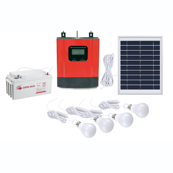 80w 150w 200w 300w Free Lamps Solar Power Lighting System