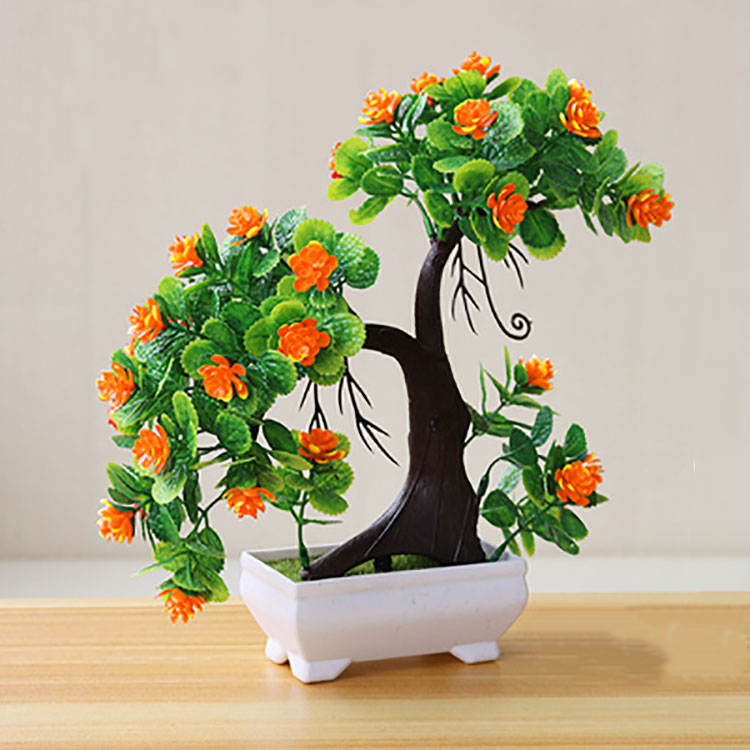 Artificial Bonsai <strong>Tree</strong> Fake Plant Decoration Potted Artificial <strong>House</strong> Plants for <strong>Home</strong> Decor Indoor