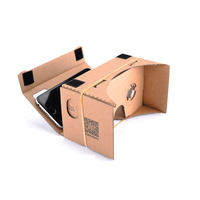 Wholesale Delicate Cinema Cardboard Virtual Reality VR 3d Glasses