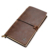 Custom vintage faux journal a5 pu genuine leather notebook