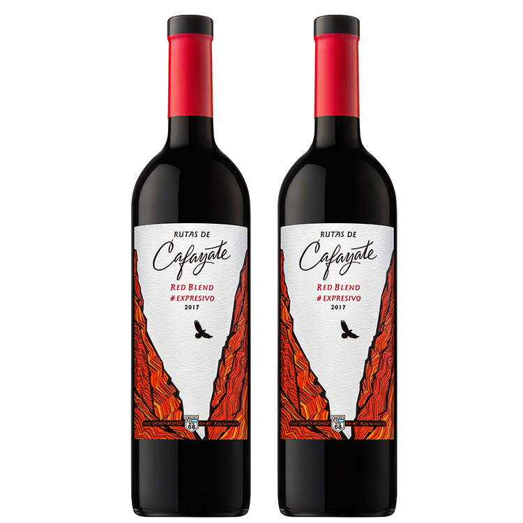 Ruby Red Color with Purple Hues Rutas de Cafayate Red Blend Expresivo - Red wine - Red Blend