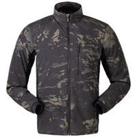 Made in myanmar outdoor camouflage poly elastane print waterproof fabric soft shell custom jacket