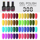 RONIKI Wholesale China Nail Gel Supplier OEM Bottles Private Label Colors Soak Off Led nails polish colour uv gel Nail Polish